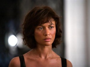 "Olga Kurylenko in a scene from the 2008 James Bond series film ""Quantum of Solace"". REUTERS/Handout"