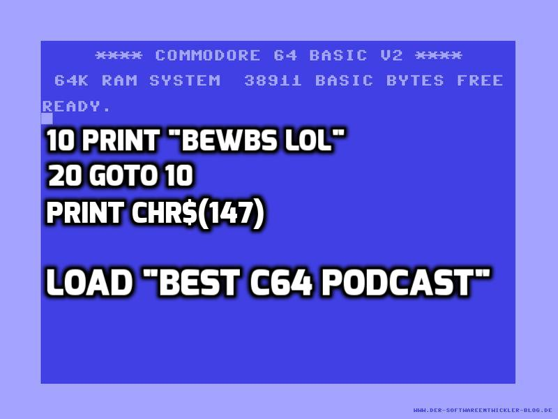 Interview: C64 Retro Podcast Host Rob O'Hara